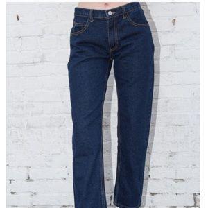 Brandy Melville arya dark wash jeans